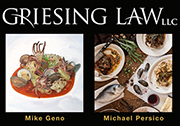 Griesing Law LLC exhibit of Mike Geno Art
