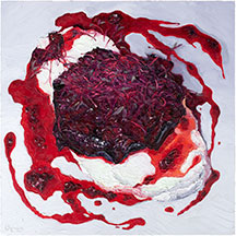 Chef Plates paintings by Mike Geno